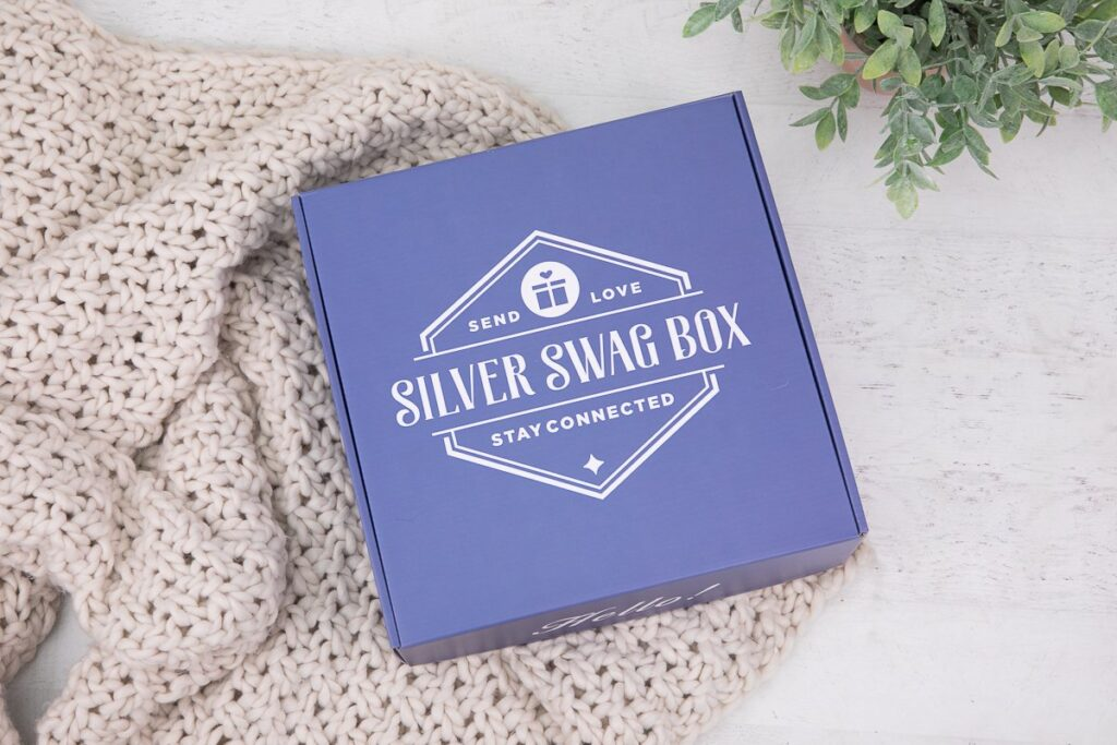 silver swag box surprise for seniors