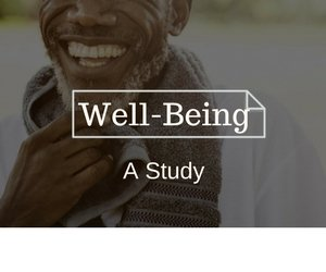 depression and well-being study