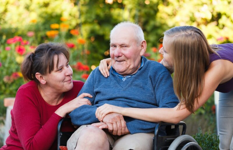 visiting a terminally ill loved one