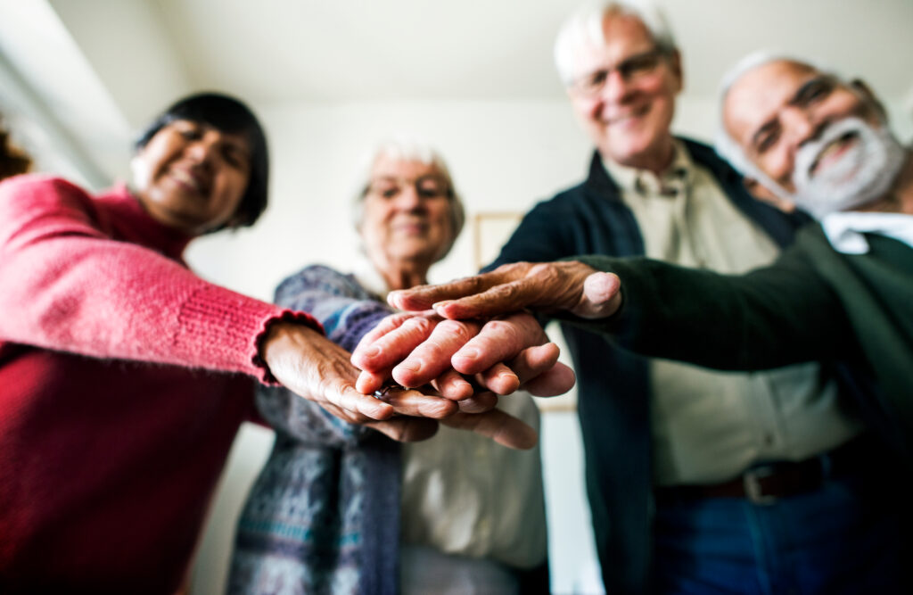assisted living senior group support