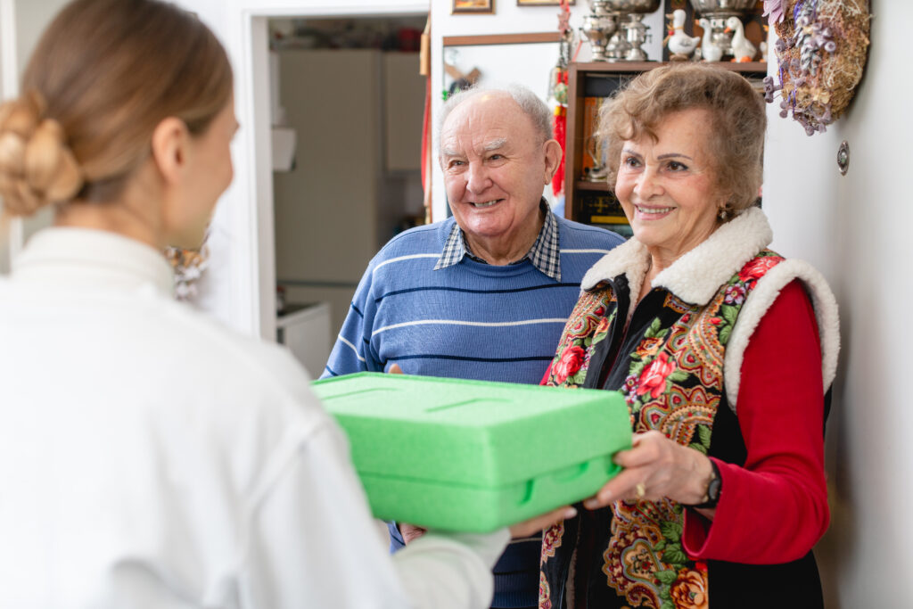 meal on wheels delivery for seniors