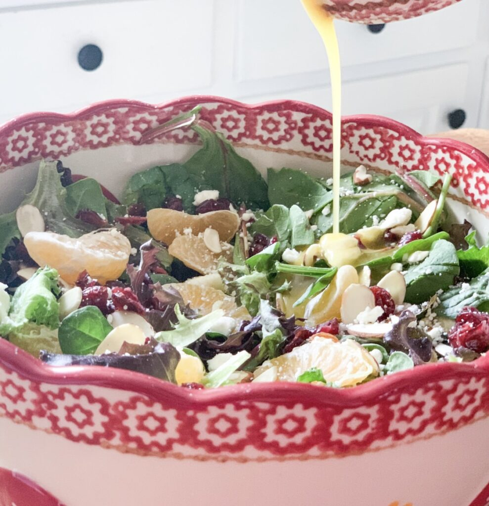 christmas in july recipe for salad dressing