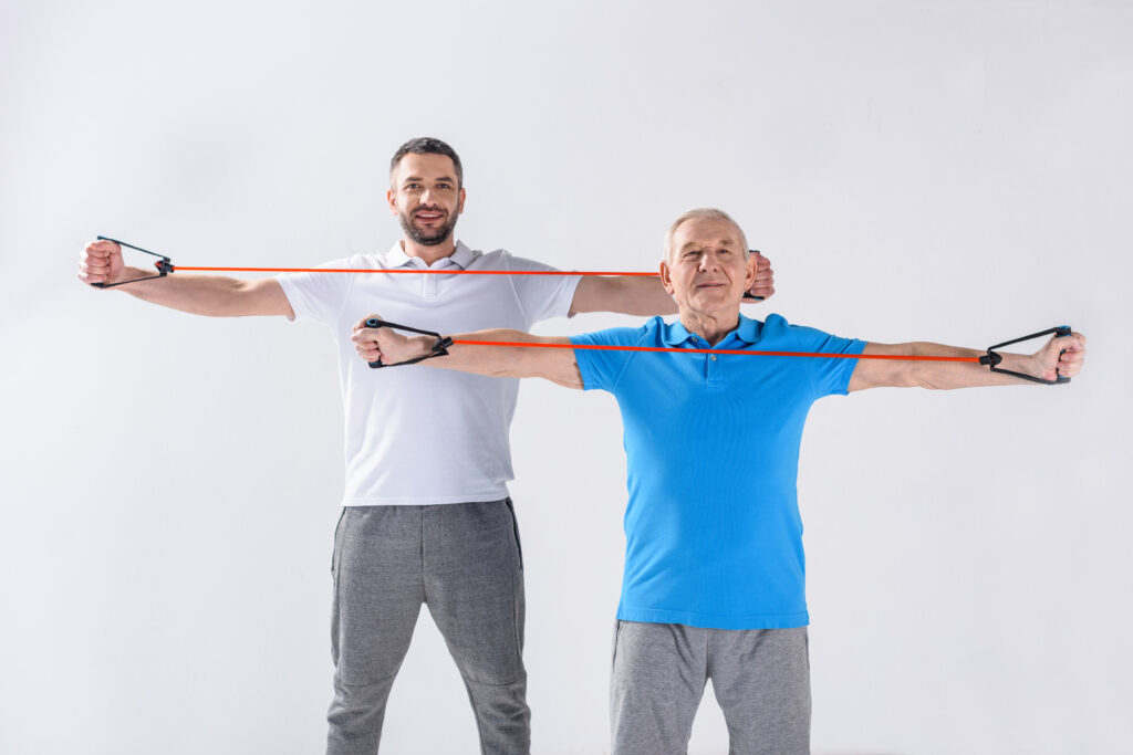 exercises for caregivers and seniors