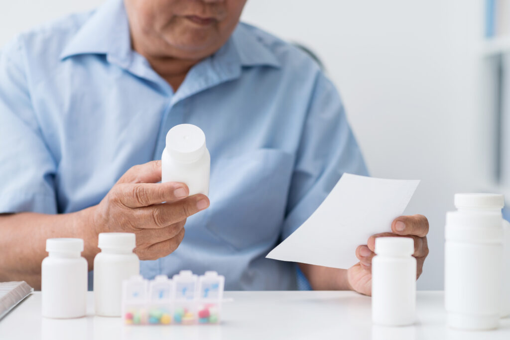 confusion of medications and fall risk
