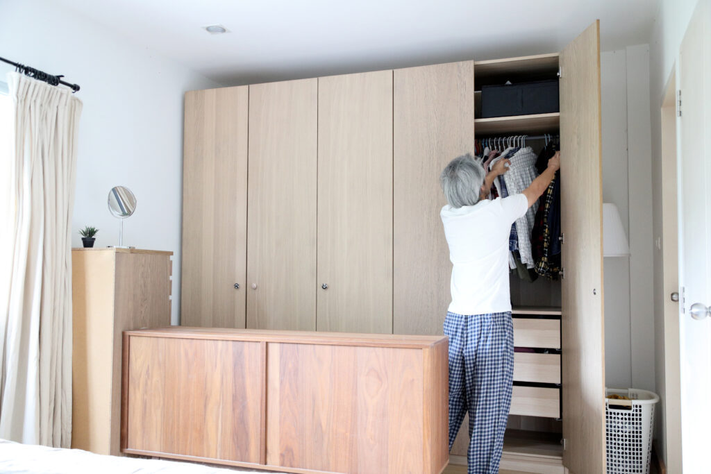 aging in place home modifications closet