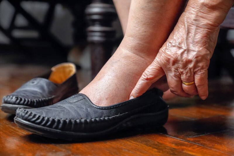 foot care for seniors